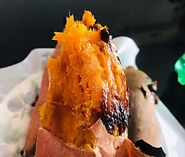 烤箱--齁甜齁甜烤白薯的做法