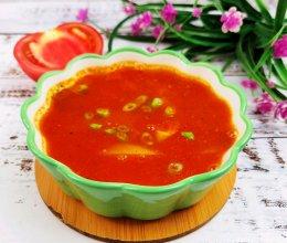 酸甜开胃又好喝的番茄土豆汤的做法