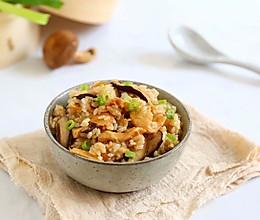 香菇鸡肉饭,今夏必备的一锅端美食的做法