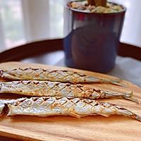 快手菜—烤箱版—孜然秋刀鱼的做法图解11