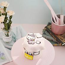 #硬核菜谱制作人# 卡通转印奶油蛋糕