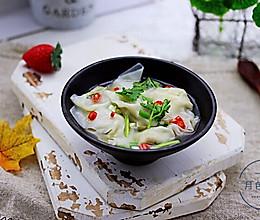 韭菜海米馄饨的做法