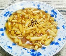 蒜香蟹味菇的做法