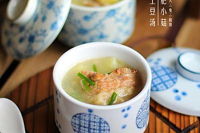 小排骨土豆汤#青春食堂#