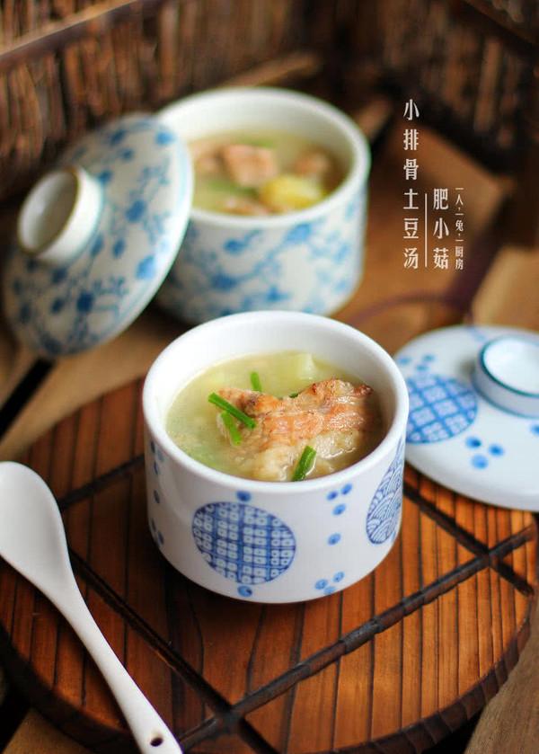 小排骨土豆汤