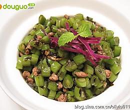 暑季下饭菜榄菜四季豆的做法