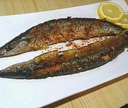 干煎香辣秋刀鱼的做法