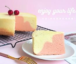 双色酸奶戚风蛋糕#一道菜表白豆果美食#的做法