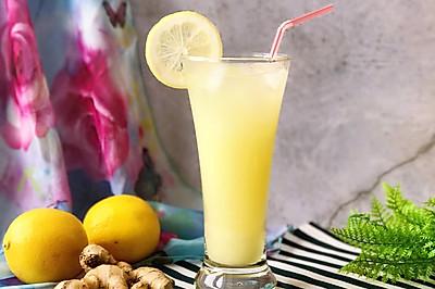 去湿排毒 美容养颜 生姜柠檬饮#重返18岁的少女心美食#