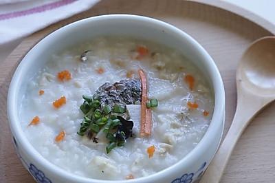 山藥魚肉粥——寶寶營養餐