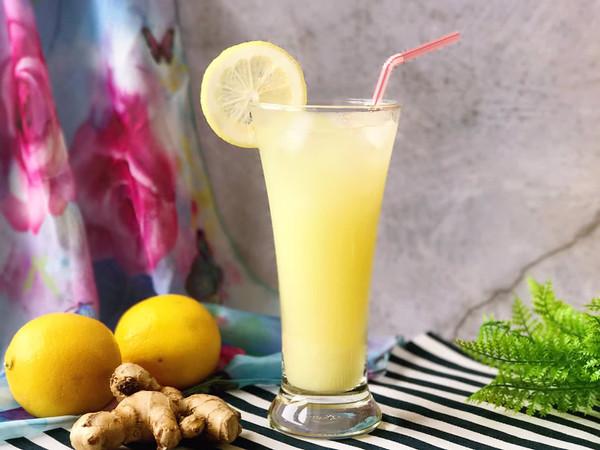 去湿排毒 美容养颜 生姜柠檬饮的做法