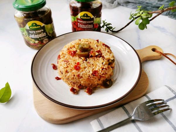 鸡胸肉酸辣椒炒饭-不一样的炒饭,酸香鲜美的做法