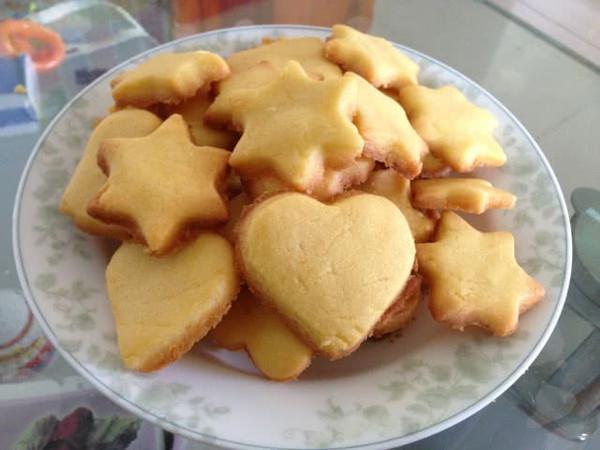 酥油曲奇饼的做法