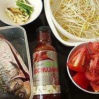 酸辣番茄焖鲫鱼的做法图解3