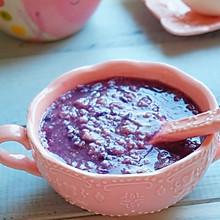 紫薯燕麦粥#急速早餐#