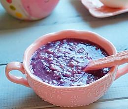 紫薯燕麦粥#急速早餐#的做法