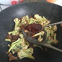 干锅花菜#春天不减肥,夏天肉堆堆#的做法图解8