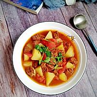 #牛气冲天#番茄土豆炖牛肉的做法图解13