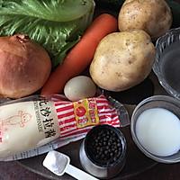 日式土豆沙拉#春天不减肥,夏天肉堆堆#的做法图解1