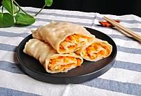 #晒出你的团圆大餐#胡萝卜菜卷的做法
