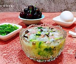 #爽口凉菜,开胃一夏!#田园时蔬粥的做法
