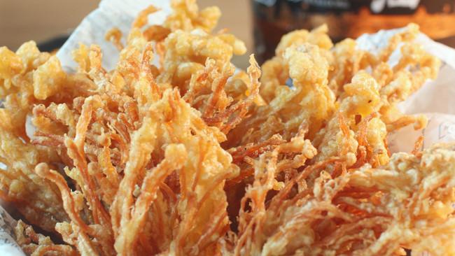 香酥金针菇的做法