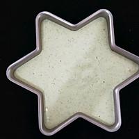 #金龙鱼精英100%烘焙大赛颖涵战队#菠菜海绵蛋糕的做法图解8