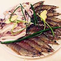 酱焖鸡翅海鲜锅的做法图解2