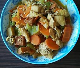 烧豆腐泡的做法