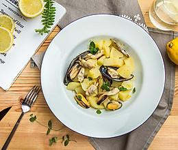 海鲜土豆沙拉的做法
