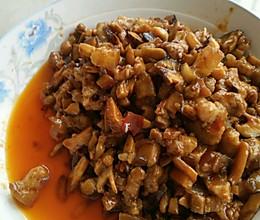 不加味精的杂酱香菇包子馅的做法