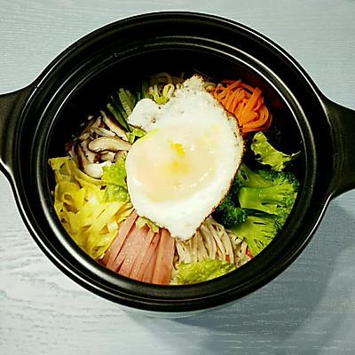 特别的石锅拌饭(献给不太能吃辣的小伙伴)
