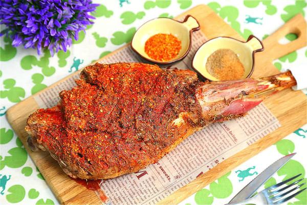 节日里必不可少的横菜:[烤羊腿]的做法