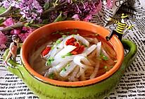 减肥白萝卜汤的做法