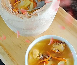#以美食的名义说爱她#竹笋椰子汤的做法
