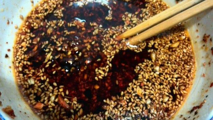 辣椒油-凉拌菜的必须