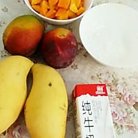 芒果牛奶冻的做法图解1