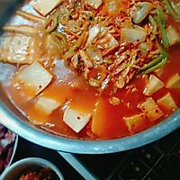 泡菜火锅的做法图解4