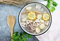 #特色菜#筒骨马蹄莲藕玉米汤的做法