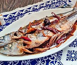 咸鲜味美红烧鲅鱼的做法