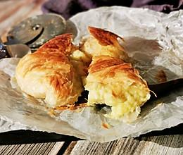 #秋天怎么吃# 快手榴莲饼的做法