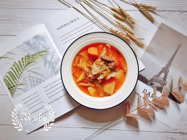 立冬|来碗酸甜开胃海派罗宋汤吧的做法