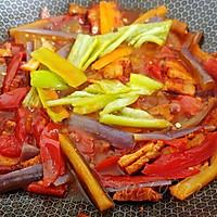 酱肉蚝香茄茄面的做法图解10