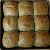 黑芝麻糊软面包的做法图解6