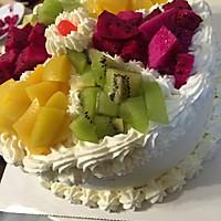 水果拼盘蛋糕的做法图解45