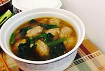 手打黄花鱼丸汤的做法