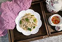 家常菜~青椒糖醋藕片的做法
