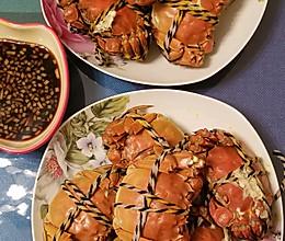 #餐桌上的春日限定#清蒸河蟹的做法
