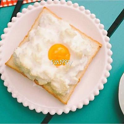 火烧云吐司~元气快手早餐