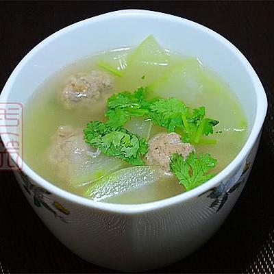 ——羊肉丸子冬瓜汤